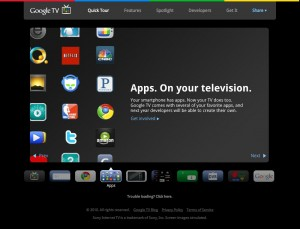 Google、「Google TV Website」を公開。「Google TV」はAndroid