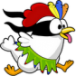 Ninja Chicken Ooga Booga