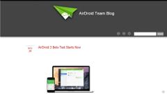 「AirDroid 3 ベータ版」がリリース!Windows/Mac用クライアントでより使いやすく!