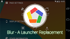 Blur - A Launcher Replacement