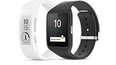 ソニー、Android Wear搭載のSmartWatch 3、曲面型電子ペーパー搭載SmartBand Talk発表