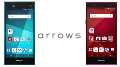 ロゴを刷新!ドコモ、「arrows NX F-02H」と「arrows Fit F-01H」を発表!【ドコモ 2015-2016 冬春】