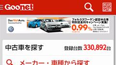 中古車検索グーネット(Goo-net)