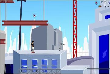 動きが気持ちいいフラッシュゲーム『Mirror's Edge 2D』