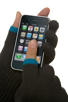 iPhone用手袋『Etre Touchy gloves』