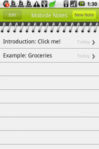 Mobisle Notes (Free)