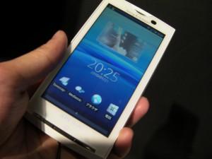 ソニーエリクソンの新Android携帯「Xperia (エクスペリア、SO-01B)」実機デモムービー