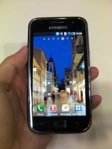 サムスンの新Android携帯「Galaxy S」実機デモムービー