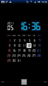 7seg Calendar