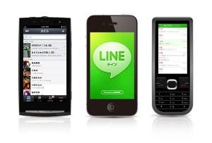 【NEWリリース】 NAVER、携帯・スマートフォン間でもチャットできるサービス「LINE」を提供開始