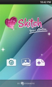 【NEWリリース】 Evernote、画像編集アプリ『Skitch for Android』をリリース