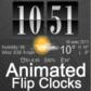 天気アニメーションデジタル時計TRIAL