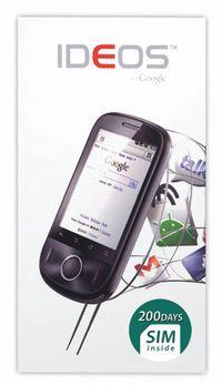 【ニュース】日本通信、テザリング対応スマホIDEOSに200日SIMが付いたお得なセットを19,800円で発売