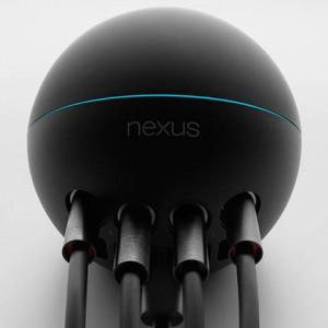 【Google I/O】Google、クラウドと連携する球体のソーシャルストリーミングメディアプレーヤー「Nexus Q」を発表