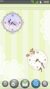 *sweet* 秒針つきアナログ時計ウィジェット free