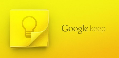 【Newリリース】Google、オンラインメモサービス『Google Keep』をリリース