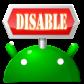 無効化マネージャー : 消せないアプリを一覧表示!無効化でバッテリーやメモリを節約しよう!無料Androidアプリ