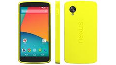 Nexus5に新色イエローが登場!…するかも?