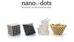 原子の原理を体験!次世代のレゴとも評された球体の磁石「nanodots」が9月より日本で正式販売開始!