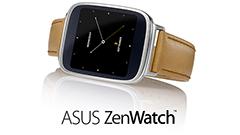 ASUS、Android Wearを搭載し独自のZenUIを持ったスマートウォッチ「ZenWatch」を発表