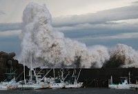 台風18号、浜松上陸