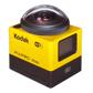 マスプロ、360度ぐるっと撮影できるKodakブランドのアクションカメラ「SP360」発売