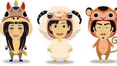 干支のかぶりものイラストが作れちゃう!日本郵便、干支似顔絵作成ツールを公開!