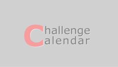 Challenge Calendar (目標カレンダー)