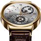 ファーウェイ、クラシックなデザインの円型ディスプレイスマートウォッチ「HUAWEI Watch」を発表!【MWC 2015】