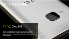 HTC、新フラッグシップ「One M9」のほか、「RE Grip」「RE Vive」を発表!【MWC 2015】