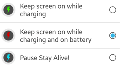 Stay Alive! Keep screen awake