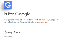 Google創設者ラリー・ペイジ、新会社「Alphabet」を設立 Googleは子会社に