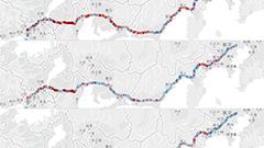 繋がりやすさのドコモに速度のソフトバンク?高速バスにおける3通信会社のつながりやすさと通信速度 実測調査