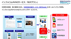 インフォコム、企業/団体向けに特化した「MVNO」サービスを開始