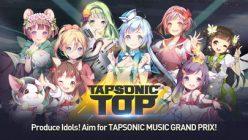 TAPSONIC TOP:個性豊かなスターと一緒にグランプリ優勝を目指す音ゲー事前登録開始!