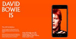 DAVID BOWIE is… VIRTUAL「DAVID BOWIE is:デヴィッド・ボウイのスマホARアプリが発売!