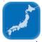 日本のお天気レーダー
